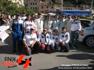 Foto gruppo Proracing Elba 2007