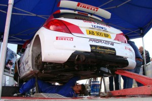 Rally Team Terrosi in assistenza