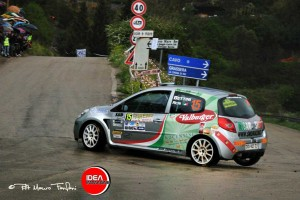 Bettini-Acri al rally Elba 2012: terzi assoluti su Clio R3C
