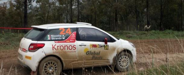 Trofeo Citroen DS3: Strambi è veloce ma sfortunato