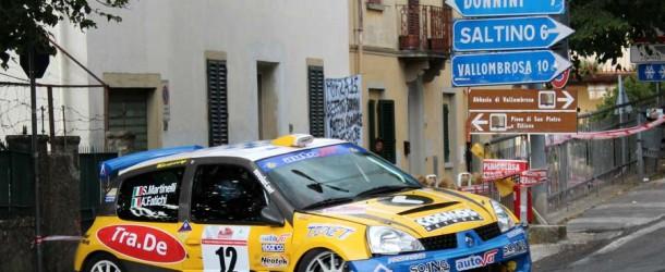 Rally di Reggello 2012: Fatichi va a podio