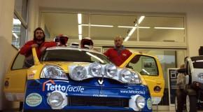 """Proracing al via del rally di Sanremo 2012 con """"Borg""""-Candido"""