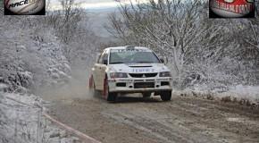 Ronde Valdorcia 2013: Bacci guida la scuderia fuori dalla… neve!