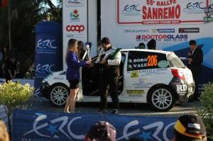 Borgogno-Candido sulla pedana del Sanremo 2013